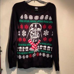 NWOT Star Wars Christmas Sweater